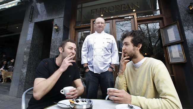 melbourne 39 s top chefs divided over smoking in outdoor dining areas