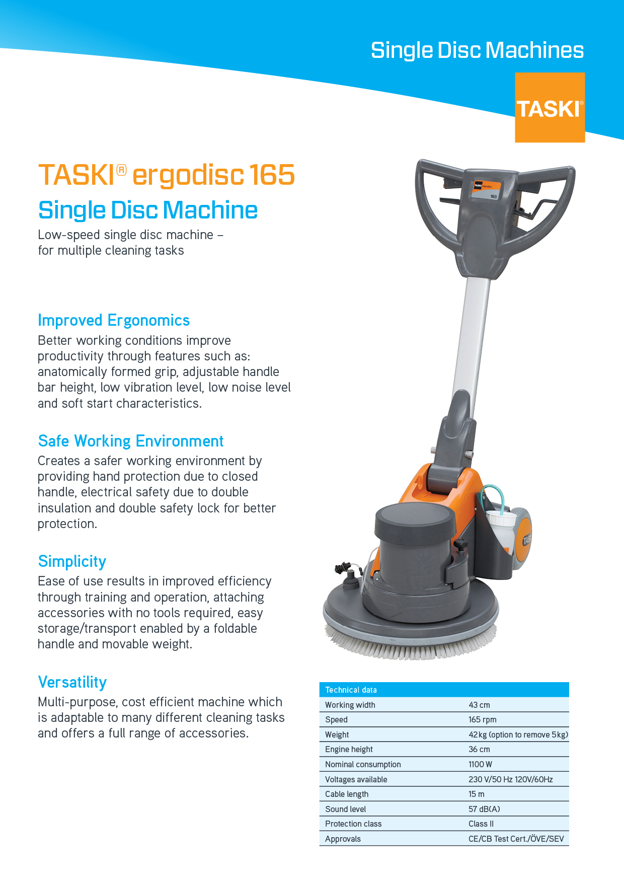 Taski Floor Care Machines