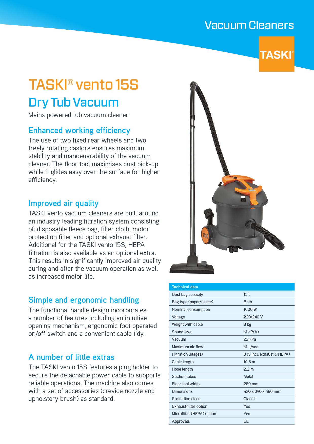 Taski Floor Care Machines