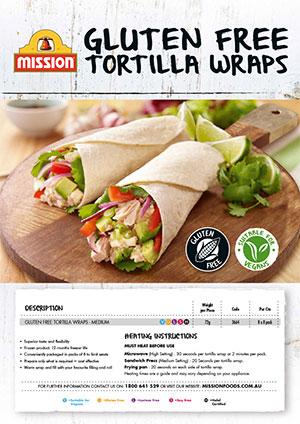Mission Gluten Free Tortilla Wraps