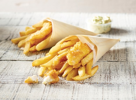 Peerless Gold Leaf Fish and Chips