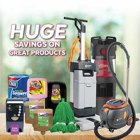 RapidClean Spring Cleaning Sale 2018