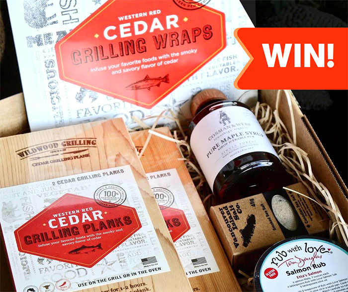 Tip Top Foodservice - Win a Woodsmoke Gourmet BBQ Master's Gift Box Every Week for 8 Weeks!