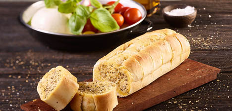 "AGB 11"" Garlic Bread Catering (Foil Wrapped)"