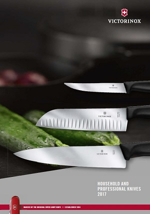 Household and professional knives catalogue cover